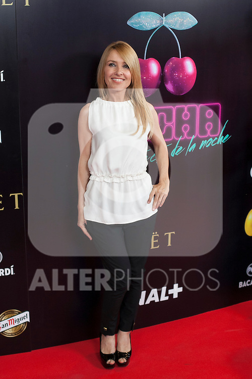 Cayetana Guillen Cuervo poses during Pacha `El arquitecto de la noche´ film premiere in Madrid, Spain. May 25, 2015. (ALTERPHOTOS/Victor Blanco)