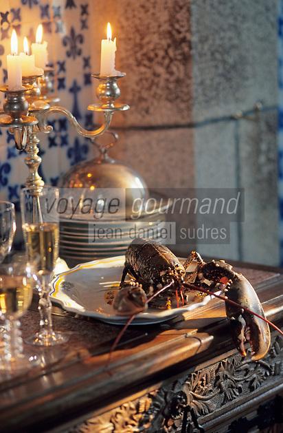 Europe/France/Bretagne/29/Finistère/Concarneau: Repas au chateau de Keriolet - Homard