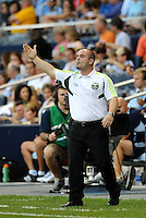 John Spencer Head Coach Portland Timbers.. Sporting Kansas City defeated Portland Timbers 3-1 at LIVESTRONG Sporting Park, Kansas City, Kansas.