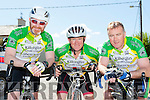 Killorglin CC riders that participated in the Johnny Drumm cycle race in Currow on SundayDerry O'Sullivan, Gabriel Gallagher and John O'Donoghue
