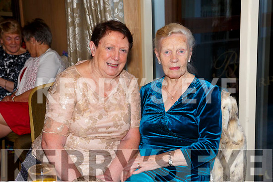 At the Ballygarry Hotel Christmas Tea Dance Club on Sunday were Nora Motherway and Mary Switzer