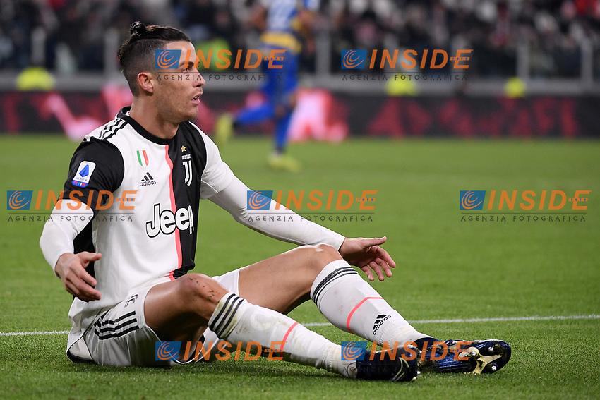 Cristiano Ronaldo of Juventus <br /> Torino 19/01/2020 Juventus Stadium <br /> Football Serie A 2019/2020 <br /> Juventus FC - Parma Calcio 1913 <br /> Photo Federico Tardito / Insidefoto