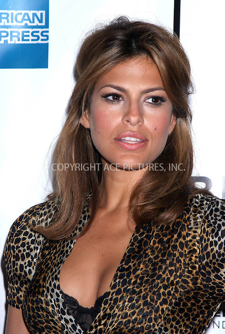 "28 April 2007 - New York, NY-  Eva Mendes at the 6th Annual Tribeca Film Festival - ""Live"" premiere at the Clearview Chelsea West."