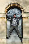 Adam Mars-Jones at Christ Church during the Sunday Times Oxford Literary Festival, UK, 2-10 April 2011. <br />