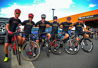 Team Frezzor Racing (New Zealand). The opening ceremony of the NZ Cycle Classic UCI Oceania Tour at Mitre 10 Mega in Masterton, New Zealand on Tuesday, 16 January 2018. Photo: Dave Lintott / lintottphoto.co.nz