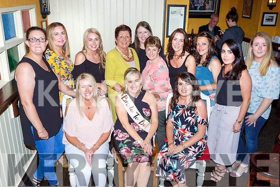 Maria Murphy Listryy seated centre celebrated her hen party with her family and friends in the Porterhouse on Saturday evening