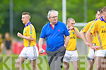 Johnny Mulvhill  Feale Rangers in the County Championship in Listowel on Sunday