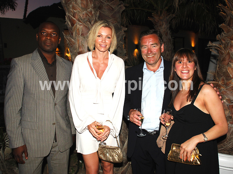 **ALL ROUND PICTURES FROM SOLARPIX.COM**.**WORLDWIDE SYNDICATION RIGHTS**.The launch of the Property internet company www.Village.com in Marbella .with football  celebrities such as Aaron Lennon, and England goal keeper Paul Robinson and Glamour model Nell McAndrew and James Hewitt.This pic:NELL McANDREW AND FELLOW GUESTS.JOB REF:3923-JGS        DATE:16_05_07.**MUST CREDIT SOLARPIX.COM OR DOUBLE FEE WILL BE CHARGED* *UNDER NO CIRCUMSTANCES IS THIS IMAGE TO BE REPRODUCED FOR ANY ONLINE EDITION WITHOUT PRIOR PERMISSION*