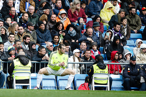 05.03.2016.  Madrid, Spain.  Gareth Bale (11) Real Madrid. La Liga between Real Madrid versus Celta de Vigo at the Santiago Bernabeu stadium in Madrid, Spain