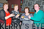 TAOST: Asdee ladies l-r: Chrissie O'Carroll, Marian O'Sullivan, Marie Lynch and Marie Walsh.toast to women christmas at Lowe's Bar and Restaurant on Monday night.
