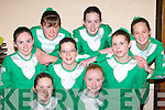 Legion dancers who competed at the East Kerry Scor finals in the Aras Padraig Killarney on Saturday night was l-r: Michelle Carroll, Aoife McCarthy, Amy Walsh, Lucy Lyne, Julie Kelly, Aine McCarthy, Katriona Davies and Mairead O'Donoghue   Copyright Kerry's Eye 2008