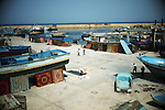 ZANZUR, Libya Sunday 4th September 2011:..The makeshift refugee camp of Zanzur. ..Ayman Oghanna