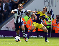 Pictured: Angel Rangel of Swansea (R).  Sunday 01 September 2013<br />