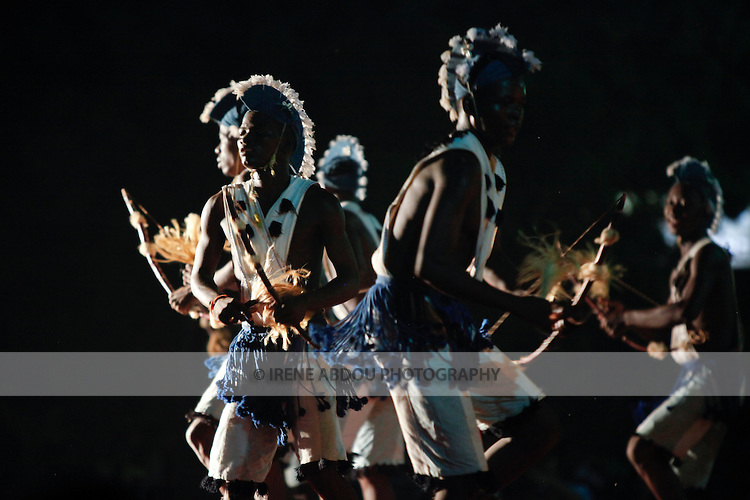 The 12th biannual Salon International de l'Artisanat de Ouagadougou (SIAO) in Burkina Faso welcomed emerging and well-known musicians and dance troupes.  This traditional dance group has won multiple awards, performing internationally in Africa and Europe.