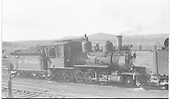 Engineer's-side view of D&amp;RGW #268 at Gunnison.<br /> D&amp;RGW  Gunnison, CO  Taken by Perry, Otto C. - 10/16/1941