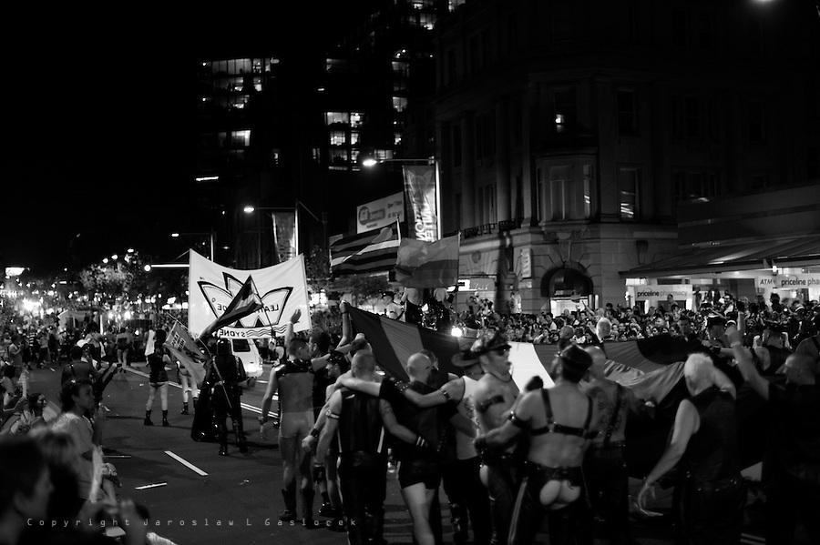 GOD'S MY DADDY; The Sydney Gay & Lesbians Mardi Gras Parade 2009