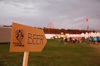 Beer sign. Photo: Magnus Fröderberg/Scouterna
