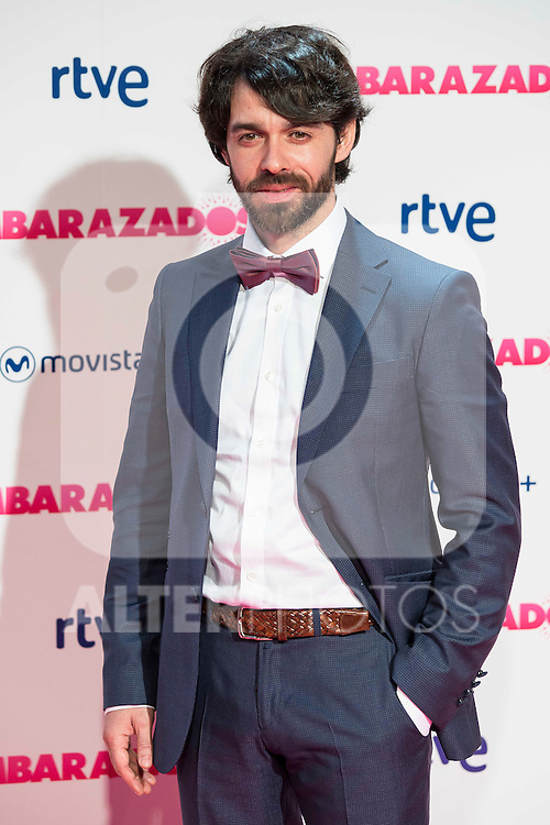 Alberto Amarilla attends to the premiere of the film &quot;Embarazados&quot; at Capitol Cinemas in Madrid, January 27, 2016.<br /> (ALTERPHOTOS/BorjaB.Hojas)