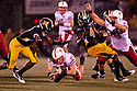 08 October 2009: Nebraska running back Rex Burkhead rushing for 5 yard and a first down in the second quarter against Missouri at at Memorial Stadium, Columbia, Missouri. Nebraska defeated Missouri 27 to 12.