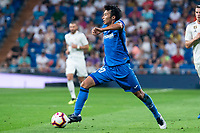 Getafe CF Gaku Shibasaki during La Liga match between Real Madrid and Getafe CF at Santiago Bernabeu in Madrid, Spain. August 19, 2018.  *** Local Caption *** © pixathlon