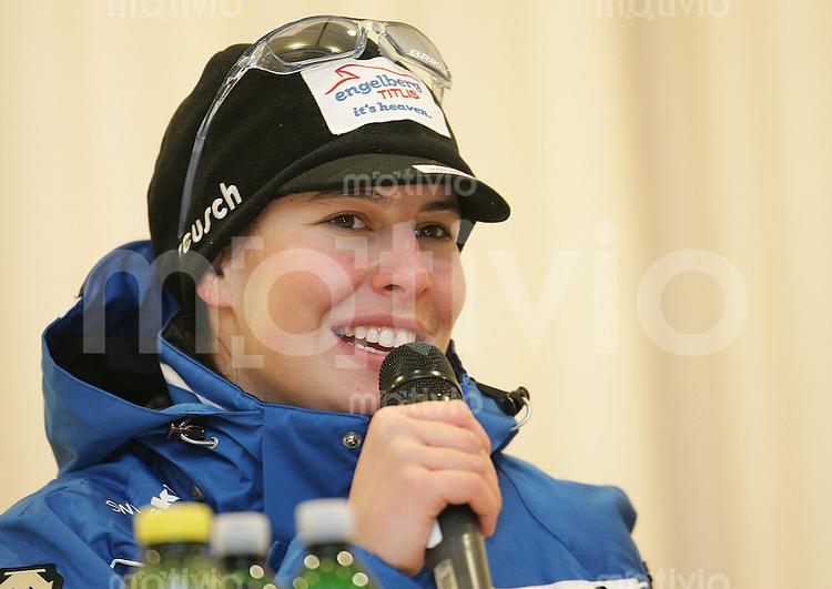 SKI ALPIN Weltcup Saison 2006/2007 Damen Abfahrt in Altenmarkt/Zauchensee Dominique Gisin (SUI) im Portraet