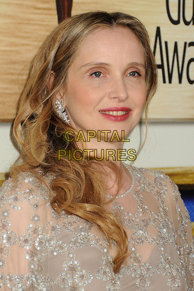 1 February 2014 - Los Angeles, California - Julie Delpy. 2014 Writers Guild Awards West Coast held at the JW Marriott Hotel.  <br /> CAP/ADM/BP<br /> &copy;Byron Purvis/AdMedia/Capital Pictures