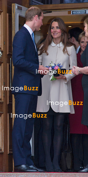 CATHERINE, DUCHESS OF CAMBRIDGE AND PRINCE WILLIAM.visit The Claire Bereavement Centre, Saunderton,Buckingham_March 19, 2013.