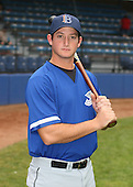 July 14th, 2007:  Robbie Widlansky of the Aberdeen Ironbirds, Class-A Short-Season affiliate of the Baltimore Orioles, poses for a photo before a game vs the Jamestown Jammers in New York-Penn League action.  Photo Copyright Mike Janes Photography 2007.