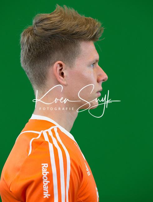 DEN BOSCH - JELLE GALEMA .  . Nederlands Hockeyteam  voor nieuwe platform Hockey.nl.    FOTO KOEN SUYK