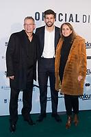 Gerard Pique and his parents Joan Pique and Montserrat Bernabeu