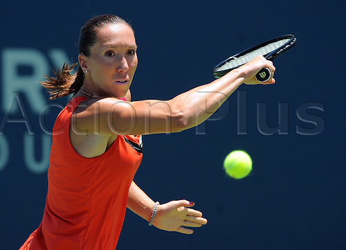 20.07.2012. La Costa, California, USA.  Jelena Jankovic (SRB) during a quaterfinals match against Yung-Jan Chan (TPE) during the Mercury Insurance Open played at the La Costa Resort and Spa.