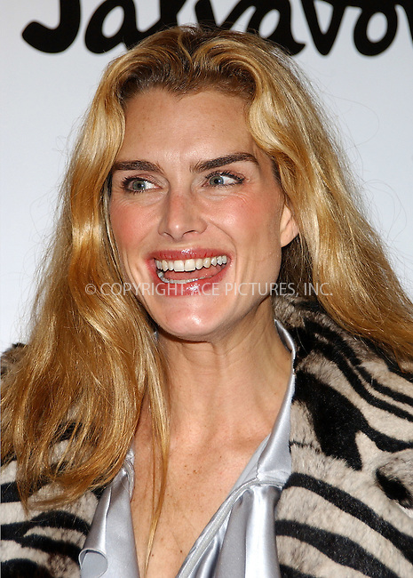 """WWW.ACEPIXS.COM . . . . . ....NEW YORK, OCTOBER 14, 2004....Brooke Shields attends the """"Welcome Back to Broadway Brooke Shields Party."""".... Please byline: DAISY STONE - ACE PICTURES.. . . . . . ..Ace Pictures, Inc:  ..Alecsey Boldeskul (646) 267-6913 ..Philip Vaughan (646) 769-0430..e-mail: info@acepixs.com..web: http://www.acepixs.com"""