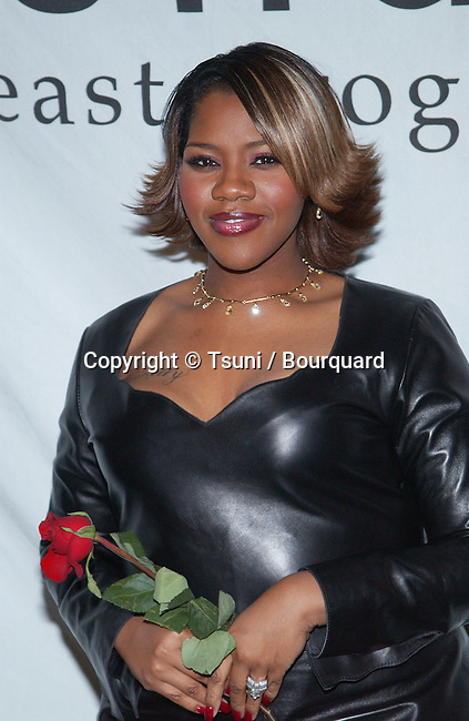 Kelly Price arriving at the What a Pair, Concert benefit for Revlon/UCLA Breast Center at the Ebel Theatre in Los Angeles. February 10, 2002.           -            PriceKelly02.jpg