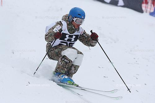 Nobuyuki Nishi (JPN), .FEBRUARY 24, 2013 - Moguls : .FIS Freestyle Skiing World Cup .Inawashiro 2013 .Men's Dual Moguls .at Inawashiro Listel Ski Fantasia, Fukushima, Japan. .(Photo by YUTAKA/AFLO SPORT)