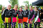 At the IT'S A KNOCKOUT in the Town Park on Sunday were Parnell's girls  Team Emma Lynch, Avril Fitzgerald, Ali Feely, Chloe Gaudino, Maggie Sugrue, Sive Pope