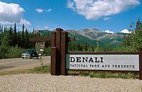 USA, Alaska, im Denali Nationalpark