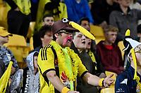 Fan during the A League - Wellington Phoenix v Western United FC at Westpac Stadium, Wellington, New Zealand on Sunday 13 October 2019. <br /> Photo by Masanori Udagawa. <br /> www.photowellington.photoshelter.com