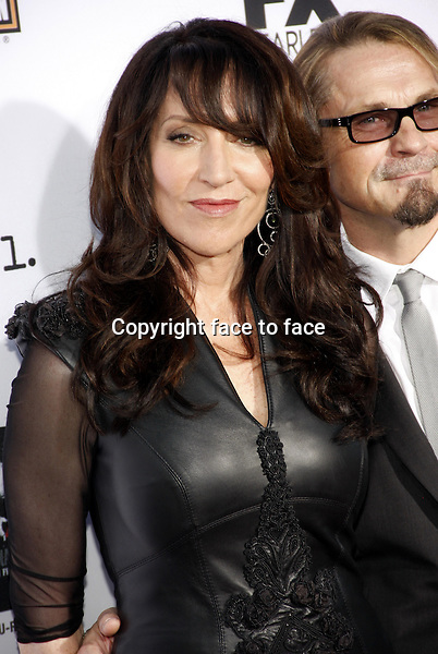 """Katey Sagal and Kurt Sutter at the FX's Season 6 Premiere Screening of """"Sons Of Anarchy"""" held at the Dolby Theatre in Hollywood on September 7, 2013 in Los Angeles, California. Credit: PopularImages/face to face"""