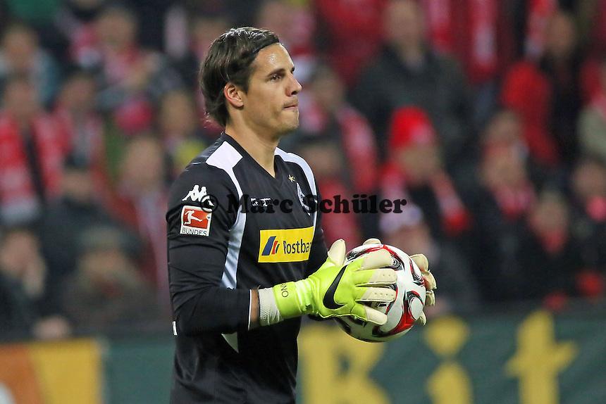 Yann Sommer (Borussia) - 1. FSV Mainz 05 vs. Borussia Moenchengladbach, Coface Arena
