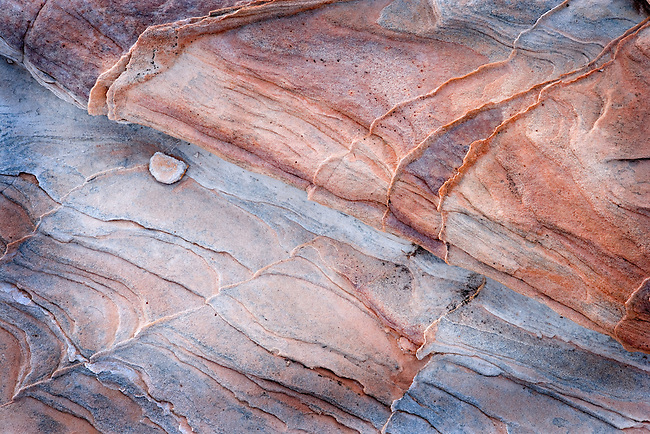 Abstract Design of Cross Bedded Sandstone, Valley of Fire State Park, Nevada #2