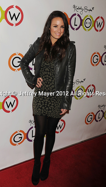 WEST HOLLYWOOD, CA - NOVEMBER 14: Catt Sadler attends the opening of Kimberly Snyder's Glow Bio Juice Bar at Glow Bio on November 14, 2012 in West Hollywood, California.