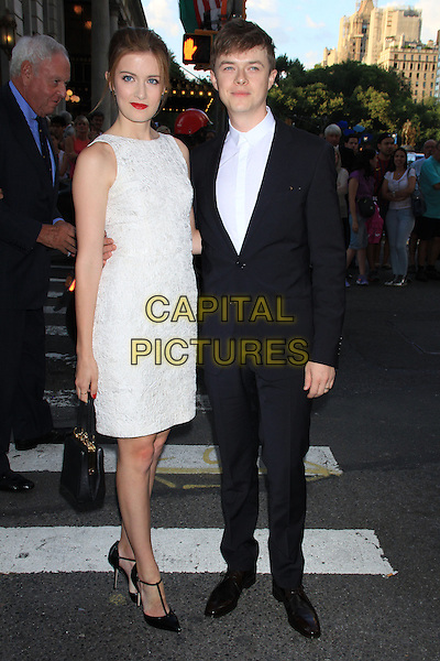 NEW YORK, NY - JULY 17: Anna Wood &amp; Dane DeHaan at the New York Premiere of &quot;Magic in the Moonlight&quot; at the Paris Theatre on July 17, 2014 in NEW YORK CITY<br /> CAP/LNC/TOM<br /> &copy;TOM/LNC/Capital Pictures