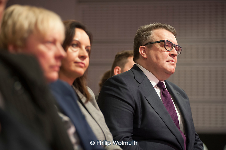 Tom Watson at Labour Party leadership election Westminster London