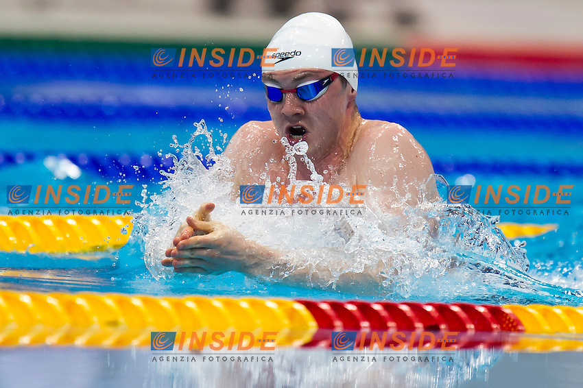 MURDOCH Ross GBR gold medal<br /> London, Queen Elizabeth II Olympic Park Pool <br /> LEN 2016 European Aquatics Elite Championships <br /> Swimming<br /> Men's 200m breaststroke final  <br /> Day 11 19-05-2016<br /> Photo Giorgio Perottino/Deepbluemedia/Insidefoto