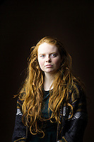 Fiona Hollow, 18, student in theatre studies, from Edinburgh.<br /> <br /> 'I have lived in Scotland my whole life and known quite a few gingers but a lot of them dyed their hair! I am the only one left. I think they were all, like - 'we want a change.'. A few have gone back but its not the same.  I like my hair.'<br /> <br /> 'The pro and the con is you stick out in a crowd. Sometimes you are not aware until they mention it - a little dig. Sometimes 'You&rsquo;ve such a nice hair colour or ugh ginger'. No one is very inventive.'<br /> <br /> 'We have a reputation for being angry and feisty but most I know are very outgoing. Maybe we are strengthened because you were called names growing up.'