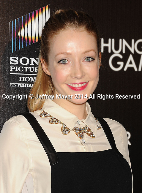 HOLLYWOOD, CA- FEBRUARY 11: Actress Jennifer Finnigan attends the Los Angeles Premiere of 'The Hungover Games' at TCL Chinese Theatre on February 11, 2014 in Hollywood, California.