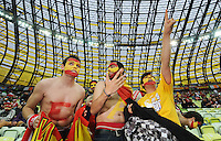 Football - Spain v Republic of Ireland - UEFA EURO 2012 Group C  - Arena Gdansk, Gdansk, Poland - 14/6/12..Spain fans before the match..Mandatory Credit: Action Images / Tony O'Brien..Livepic