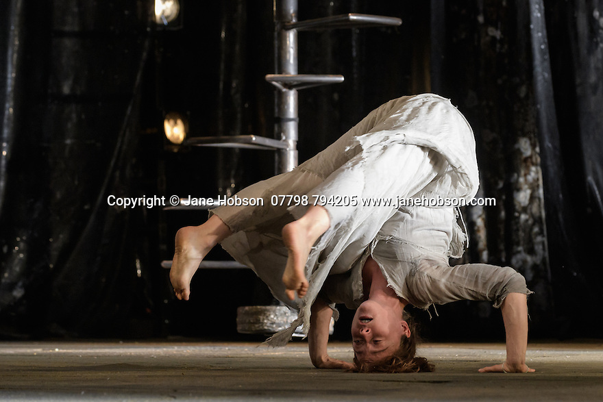 """Compagnie du Hanneton presents """"The Toad Knew"""", by James Thierree, at the Kings Theatre, as part of the Edinburgh International Festival. Picture shows: Valerie Doucet"""