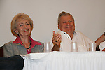 Diana Sowle, Bob Hastings at 4th Annual Mid-Atlantic Nostalgia Convention in Aberdeen, Maryland. (Photo by Sue Coflin/Max Photos)