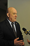 Nassau County Legislature postpones vote on controversial merging of Police Precincts, on Monday, February 27, 2012. Nassau PBA President Jim Carver said he believes Police Benevolent Association and county will talk further. Vote is tentatively rescheduled for March 5.